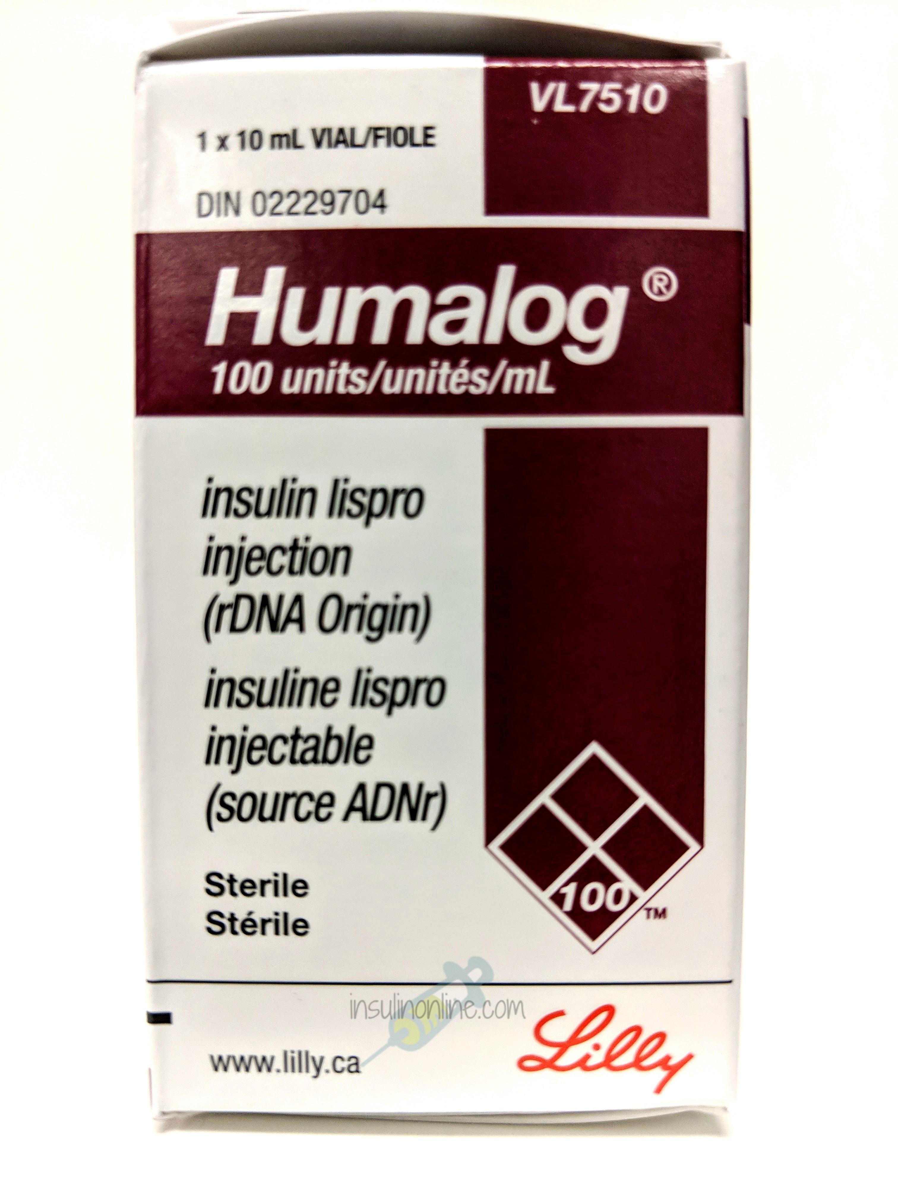 Humalog 10ml Vial