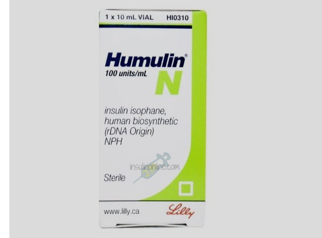 Humulin N 10ml Vial