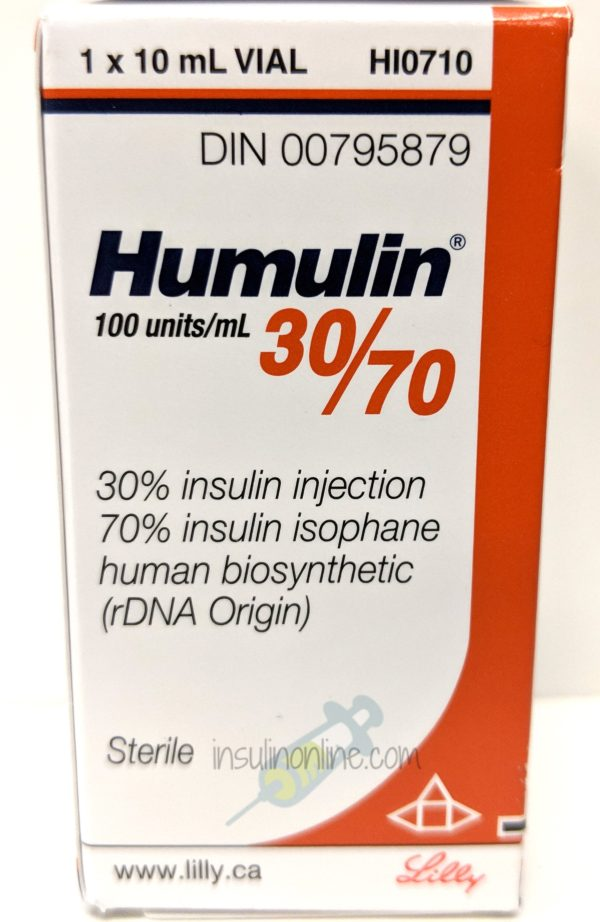 Humulin 30/70 10ml vial