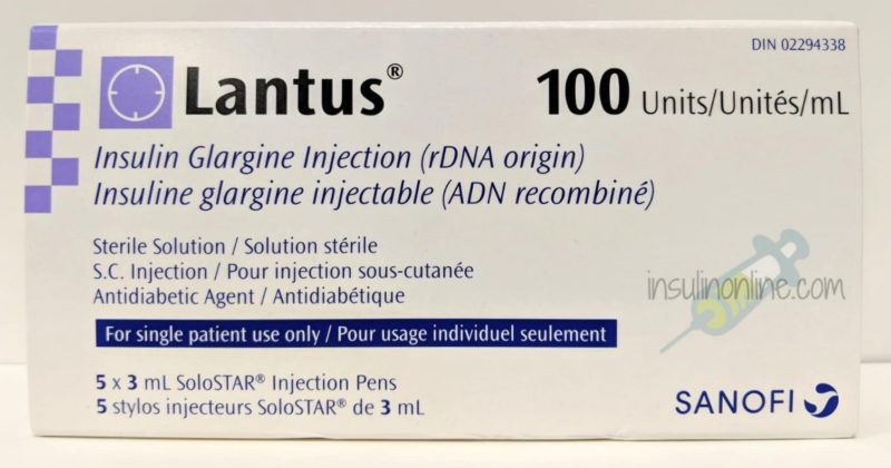 Lantus Solostar 5x3ml Pens