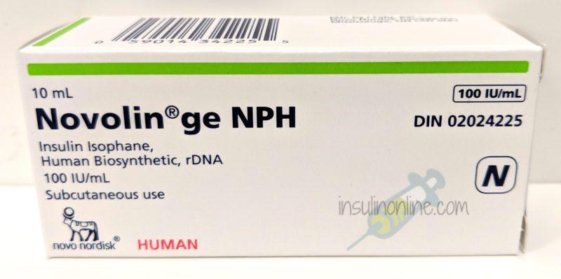 Novolin ge NPH 10ml vial