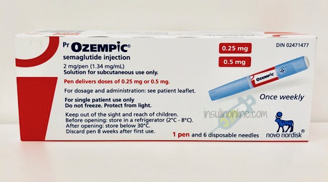 Ozempic 0.25mg-0.5mg pen